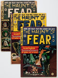 Golden Age (1938-1955):Horror, Haunt of Fear Group of 4 (EC, 1950-54) Condition: Average FR....(Total: 4 Comic Books)