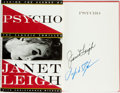 Books:Biography & Memoir, Janet Leigh. SIGNED. Psycho: Behind the Scenes of the ClassicThriller. New York: Harmony Books, [1995]....