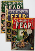 Golden Age (1938-1955):Horror, Haunt of Fear #4 and 7-9 Group (EC, 1951) Condition: AverageGD+.... (Total: 4 Comic Books)