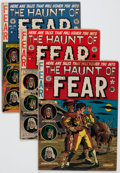 Golden Age (1938-1955):Horror, Haunt of Fear Group of 8 (EC, 1951-53) Condition: Average VG-....(Total: 8 Comic Books)