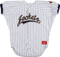 Baseball Collectibles:Uniforms, 1994 Nomar Garciaparra Game Worn Georgia Tech Yellow Jackets Jersey....
