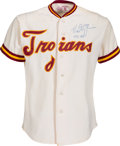 Baseball Collectibles:Uniforms, 1984 Mark McGwire Game Worn USC Trojans Uniform....