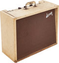 Musical Instruments:Amplifiers, PA, & Effects, 1960 Gibson GA-6 Lancer Tan Guitar Amplifier, Serial # 28349....