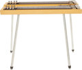 Musical Instruments:Lap Steel Guitars, 1957 Gibson Double Eight TV Yellow Console Steel Guitar....