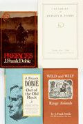 Books:Americana & American History, J. Frank Dobie. Group of Four Titles. Various publishers anddates.... (Total: 4 Items)
