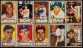 Baseball Cards:Lots, 1952 Topps Baseball Collection (113)....