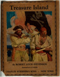 Books:Children's Books, Robert Louis Stevenson. Treasure Island. New York: CharlesScribner's Sons, 1925....
