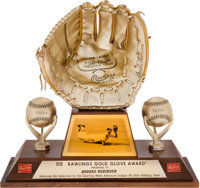 1970 Gold Glove Award from The Brooks Robinson Collection