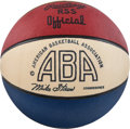 Basketball Collectibles:Others, 1973-74 ABA Basketball (Storen), Mint in Box....