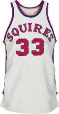 Basketball Collectibles:Uniforms, 1970-71 Charlie Scott Game Worn Virginia Squires Rookie of the YearJersey....