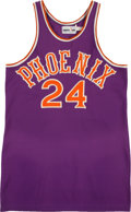 Basketball Collectibles:Uniforms, Early 1980s Dennis Johnson Game Worn Phoenix Suns Jersey andShorts....