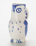 Post-War & Contemporary:Sculpture, Pablo Picasso (Spanish, 1881-1973). Hibou, 1954. Glazedceramic pitcher. 9-1/2 inches (24.1 cm) high. Ed. 500. Inscribed...