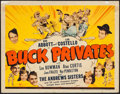 """Movie Posters:Comedy, Buck Privates (Universal, 1941). Title Lobby Card (11"""" X 14"""").Comedy.. ..."""
