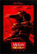 """Movie Posters:Animation, Mulan (Buena Vista, 1998). One Sheets (4) (27"""" X 40"""") DS Advance.Animation.. ... (Total: 4 Items)"""