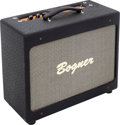 Musical Instruments:Amplifiers, PA, & Effects, Circa 2006 Bogner New Yorker Black Guitar Amplifier, Serial #111385....