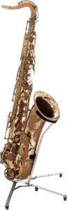 Musical Instruments:Horns & Wind Instruments, Circa 1970 Vito Duke Brass Tenor Saxophone, Serial # 22759....