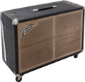 Musical Instruments:Amplifiers, PA, & Effects, 1965 Fender Tremolux Black Speaker Cabinet....