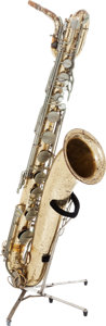 Musical Instruments:Horns & Wind Instruments, 1960's Martin Brass Baritone Saxophone....