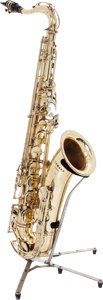 Musical Instruments:Horns & Wind Instruments, Circa 1970 Yamaha YTS-61 Brass Tenor Saxophone, Serial # 3298....