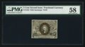 Fractional Currency:Second Issue, Fr. 1233 5¢ Second Issue PMG Choice About Unc 58.. ...