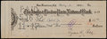 Baseball Collectibles:Others, 1932 Ty Cobb Signed Check - Made Out to Ty Cobb Jr....