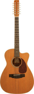 Musical Instruments:Acoustic Guitars, 1998 Wally Barrows Natural 12 String Acoustic Guitar....