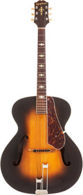 Musical Instruments:Acoustic Guitars, 1947 Epiphone Triumph Sunburst Archtop Acoustic Guitar, Serial #56127....