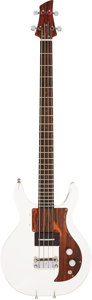 Musical Instruments:Bass Guitars, 1969 Ampeg Dan Armstrong Clear Electric Bass Guitar, Serial # D15114A....