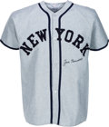 Baseball Collectibles:Uniforms, 1980's Joe Sewell Signed New York Yankees Flannel Jersey. ...