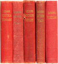 Books:Travels & Voyages, [Travel]. Group of Five Baedeker's Guides. Leipzig: Karl Baedeker, 1905 - 1913.... (Total: 5 )