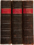 Books:Literature Pre-1900, [Theatre, Drama]. Three Volumes of Comedies from Bell's BritishTheatre. London: John Bell, 1791 - 1792. ... (Total: 3 Items)