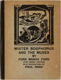 Books:Literature 1900-up, [Drama]. Ford Madox Ford. Paul Nash, illustrator. MisterBosphorus and the Muses; or, a Short History of Poetry inBrita...