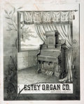Books:Pamphlets & Tracts, [Catalogue]. The Estey Organ Company, Brattleboro, Vermont,U.S.A. Illustrated Catalogue. Philadelphia: Ketterlinus ...