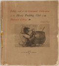 Books:Literature Pre-1900, [Hasty Pudding Club]. Lines read at the Centennial Celebrationof the Hasty Pudding Club of Harvard College. 1795-1895. ...