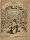 Books:Periodicals, [Illustrated Periodicals, Political Cartoons]. Mrs. Grundy.Vol. I, No. 12. Sept. 23rd, 1865...