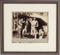 """Photography:Studio Portraits, A Great Large 10"""" x 8.5"""" Vintage Photo of """"Camp of Bandits, Aspen Gulch, Near Rico, Colo.""""..."""