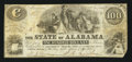 Obsoletes By State:Alabama, Montgomery, AL- State of Alabama $100 Jan. 1, 1864 Cr. 12. ...