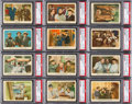 "Non-Sport Cards:Sets, 1959 Fleer ""Three-Stooges"" Partial Set (73/96). ..."