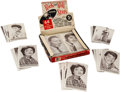 "Non-Sport Cards:Unopened Packs/Display Boxes, 1959 Nu Cards ""Rock & Roll"" Cello Box With Packs and LooseCards. ..."