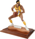 Basketball Collectibles:Others, 1990s Wilt Chamberlain Signed Statue....