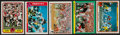 """Football Cards:Sets, 1981 - 1985 Fleer """"In Action"""" Football Sets Collection (8). ..."""