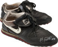 Baseball Collectibles:Others, Circa 1990 Kirby Puckett Game Worn Turf Shoes....