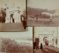 Books:Prints & Leaves, [New York] [Photography]. Group of Four Photographs Depicting NewYork Tourist Locales. [N.p., circa 1899]....