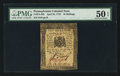 Colonial Notes:Pennsylvania, Pennsylvania April 25, 1776 10s PMG About Uncirculated 50 EPQ.. ...