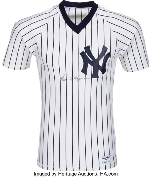 superior quality 08b94 a6708 1980's Ben Chapman Signed New York Yankees Jersey ...