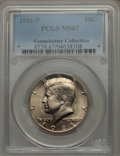 Kennedy Half Dollars, 1981-P 50C MS67 PCGS. Ex: Vennekotter Collection. PCGS Population(25/0). NGC Census: (15/1). Mintage: 29,544,000. Numismed...