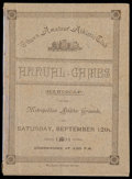 "Miscellaneous Collectibles:General, Rare 1891 Ottawa Amateur Athletic Club ""Annual Games"" Program. ..."
