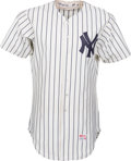 Baseball Collectibles:Uniforms, 1981 Dave Winfield Game Worn New York Yankees Jersey with Multiple Photo Matches, MEARS A9, and Cap....