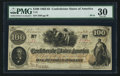 Confederate Notes:1862 Issues, T41 $100 1862 PF-11 Cr. 319A. ...
