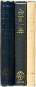 Books:Biography & Memoir, Dante Gabriel Rossetti, subject. Group of Three Titles. Variouspublishers and dates.... (Total: 3 Items)